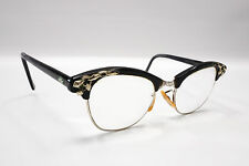 Vintage 50s Art Craft Eyeglasses 1/20 12K Gold Filled Cat Eye Glasses USA #1945