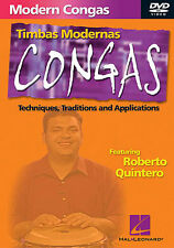 Learn How To Play Playing Congas & Timbas DVD Latin NEW