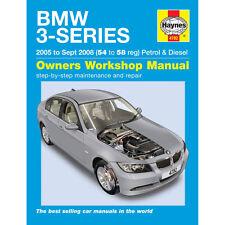 BMW 3 Series 2.0 2.5 3.0 Petrol 2.0 3.0 Diesel 05-08 (54 to 58) Haynes Manual