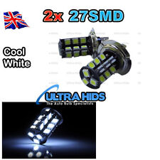 H7 27SMD Fog HIGH BEAM Light LED Bulb (Cool white)  flash 12v 6000k 499