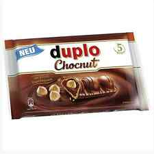 -Fast Shipping from USA -DUPLO Chocolate bar with whole nuts- Pack of 5 Bars