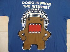 Domo Is From The Internet Cartoon Humor Children Blue T Shirt M