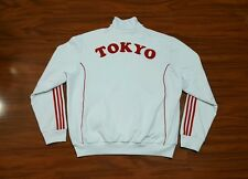 Mens Vintage Adidas Tokyo Japan Hip Hop Rap BBoy Warm Up Track Sports Jacket 2XL