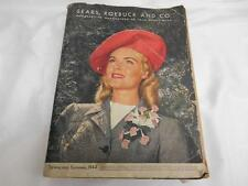 Old Vtg 1944 SEARS ROEBUCK CATALOG Spring Summer ADVERTISING WWII Toys Gifts