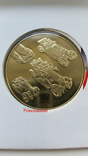 1996 ROYAL MINT CENTURY OF BRITISH MOTORING CLASSIC CARS MEDALLION COVER-