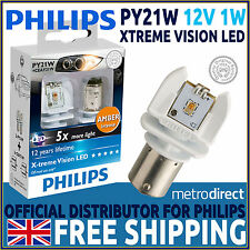Philips X-treme Vision Py21w Led retrofit coche bombillas (par)
