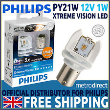 Philips X-Treme Vision PY21W Led Retrofit Car Bulbs (Pair)