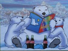 """Coca-Cola """"South Pole Vacation"""" Polar Bears Coke Collector Cards Set of 50 MINT!"""