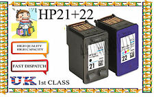 Remanufactured 21 &22 High Capacity& Quality Inkjet Cartridges for hp printer