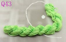 28m Nylon Chinese Knot Cord Thread For Braided Bracelet 1mm Dia free post Q43