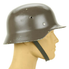 Original German M40 WWII Type Steel Helmet- Finnish M40/55,  Size 60cm US 7 1/2