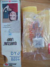 General electric DYJ 230V projection 650W lampe/ampoule. neuf (stock ancien)