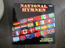 LP - National Hymnen - The Band of the Grenadier Guards (DECCA)
