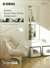 Yamaha Katalog Prospekt 2002 / DPX-1000 DSP-AZ1 AX-892 AX-596 KX-592 CDX-596