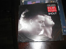 Tears For Fears; Shout  on 45 + PS