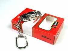 Burago Ferrari 348 tb Extremely rare Collectible chrome Plated Keyring 1:87