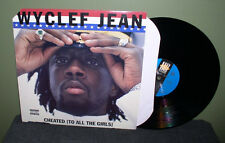 "Wyclef Jean ""Cheated (To All the Girls)"" 12"" Orig US VG+ The Fugees Lauren Hill"