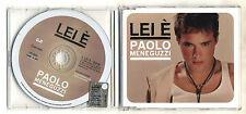 Cd PROMO PAOLO MENEGUZZI Lei è - 2003 cds singolo single e'