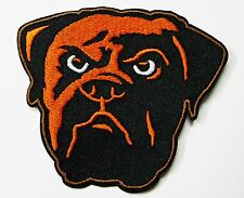 LOT OF 1) NFL CLEVELAND BROWNS FOOTBALL (DAWG HEAD) EMBROIDERED PATCH # 22