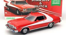 FORD Gran Torino 1976 Starsky & Hutch V8 Muscle Car V8 red Movie Greenlight 1:18