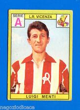 CALCIATORI PANINI 1968-69 - Figurina-Sticker - MENTI - VICENZA -Rec