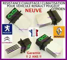RÉSISTANCE NEUVE COMMANDE CHAUFFAGE et de CLIMATISATION RENAULT, PEUGEOT CITROEN