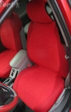 SELECT MODEL n COLOR MIX VELOUR AND SYNTHETIC TWO FRONT CUSTOM CAR SEAT COVERS