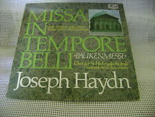 vtg HAYDN music LP record 1979 MISSA IN TEMPORE BELLI Paukenmesse classic 200669