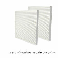 Set of 2 Cabin Air Filter For Nissan Sentra Altima Maxima Murano Quest CF11173