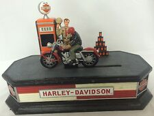 Harley-Davidson Franklin Mint 2002 Sportster Motorcycle Pump Mechanical Bank