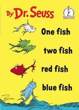 One Fish Two Fish Red Fish Blue Fish by Dr. Seuss (Hardcover) BRAND NEW~vtg 1988