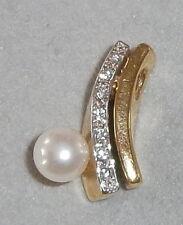 Anhänger aus 333 Gold mit Perle