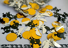 Pirate Table Confetti Boys Party Skull Sword Gold Coins Decorations Sprinkles