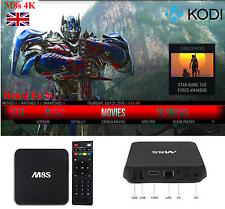 M8s 2g 8g WIFI ANDROID 4.4 TV BOX ✓ KODI XBMC BESTIA ✓ ✓ ✓ pieno carico FILM TV ✓ ✓