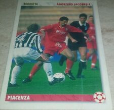 CARD JOKER 1994 PIACENZA IACOBELLI CALCIO FOOTBALL SOCCER ALBUM