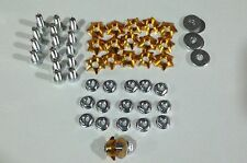 Spy 250F1-350F1-A ( Star Head Body Bolts, Gold ) Road Legal Quad Bikes parts