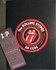 ROLLING STONES TOURPROGRAMM TOUR BOOK ZIP CODE NORTH AMERICA TOUR 2015
