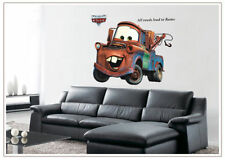 Disney Pixar car Mater Removable wall stickers decals art kids Room home Decor