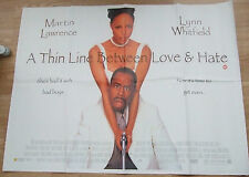 Martin Lawrence  A THIN LINE BETWEEN LOVE AND HATE (1996) Original movie poster