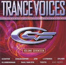Trance Voices 17 - 2 CDs - Sylver Paul van Dyk Scooter Markus Schulz DJ Shog