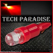 6x Ampoule T5 W1.2W W2X4.6D ( pour B8.3D ) LED Bulb Rouge Red Neo Wedge