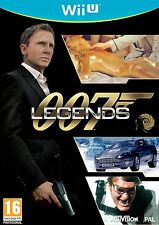 wii U 007 LEGENDS Live The Legend James Bond Action Game Nintendo PAL UK Version