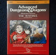 Il UK2 Sentinel Advanced Dungeons & dragons avventura modulo D&D RPG GAME 9101