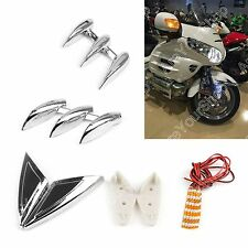Lighted Fork Tower Accents Para Honda Gold Wing GL1800 2001-2011 Chorme