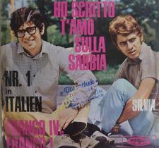 """7"""" 1968 RARE VG++ ! FRANCO IV E FRANCI I : Ho Scritto T´Amo Sulla Sabbia"""