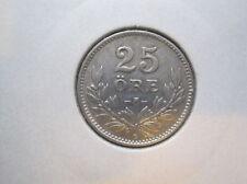 Schweden 25 Öre 1940 Silber (248)