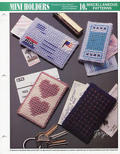 Mini Holders ~ Gift Credit Cards Stamps & More, Annie's plastic canvas patterns