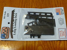 AM Models HO #119 Long Loading Dock (kit) Plastic