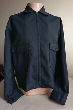Vintage LEE WORK JACKET 42 R UNION MADE IN USA Mechanic's Shop Blue punk/70s/60s