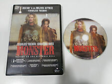 MONSTER DVD CHARLIZE THERON CHRISTINA RICCI ESPAÑOL ENGLISH REGION 2